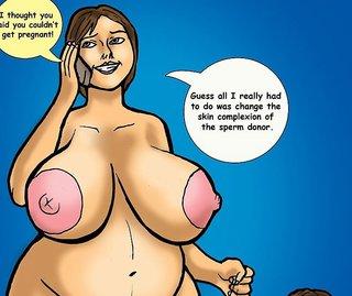 Cartoon Pregnant Porn