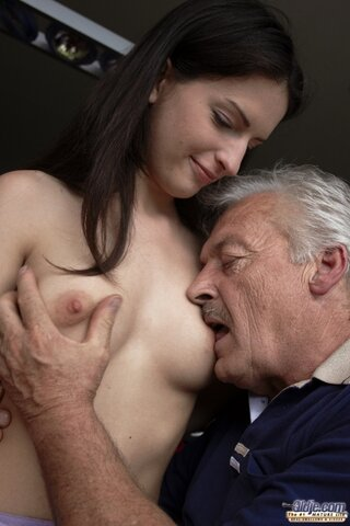 Old Man Young Girl Big Dick